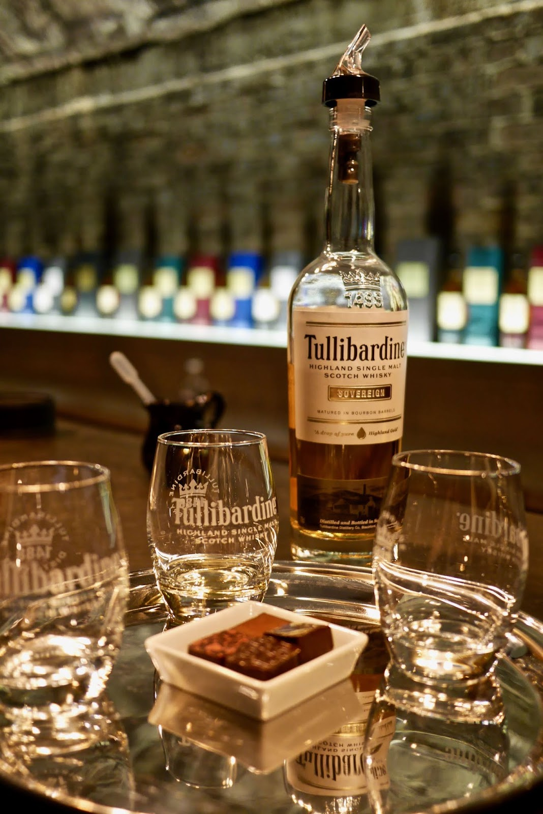 Tullibardine whisky distillery new tasting room