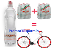 Logo ''Pedala con Sangemini'' e vinci 60 biciclette Olmo e un regalo sicuro per tutti!