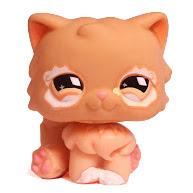 Littlest Pet Shop Large Playset Persian (#490) Pet