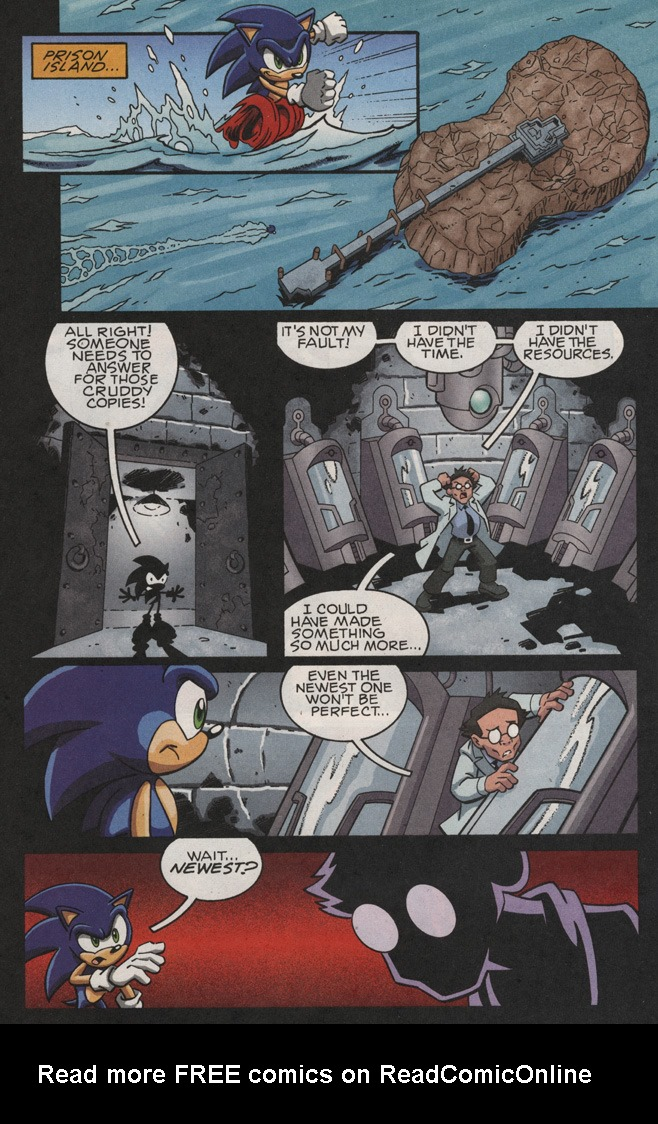 Read online Sonic X comic -  Issue #25 - 26