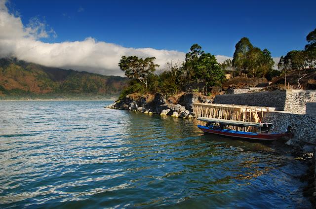 Gunung dan Danau Batur di Kintamani