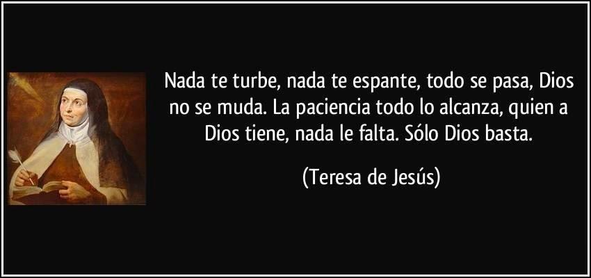 Frases De Santa Teresa D Avila 10 Quotes Links