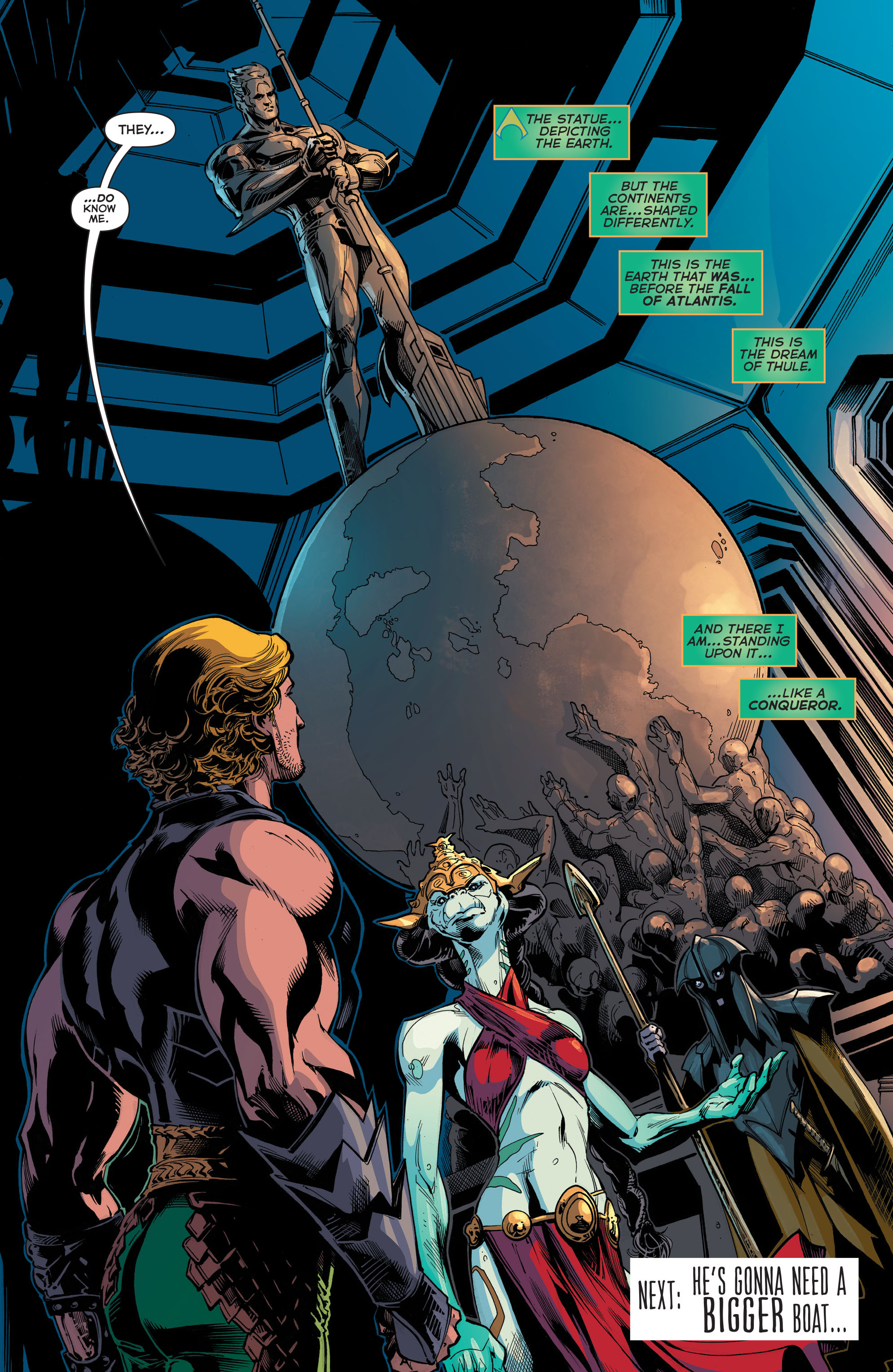 Read online Aquaman (2011) comic -  Issue #45 - 21
