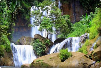 Air Terjun Terindah Luhur Cibinong, Cianjur