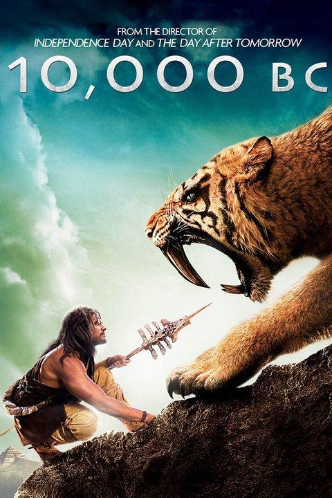 10,000 BC (2008) Dual Audio 480p BluRay 300mb Hollywood [Hindi-English]