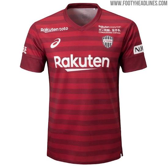 Vissel Kobe 2019 Home, Away & Third Kits Released - Footy ...