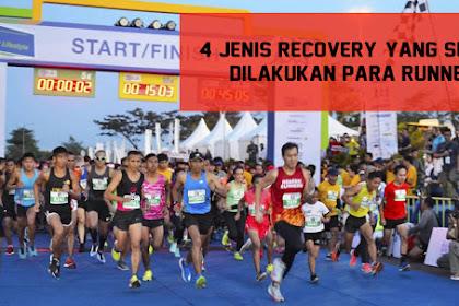 4 Jenis Recovery, Yang Sering Dilakukan Para Runners