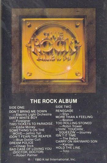 K Tel Kollection 1973 1983 The Rock Album 1980
