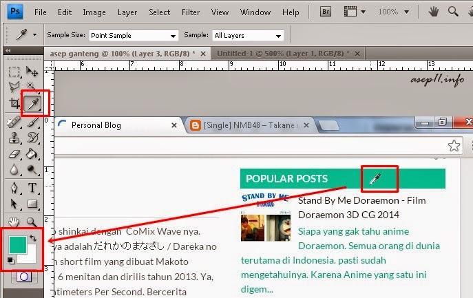 Cara Cepat Merubah Warna Template Blog
