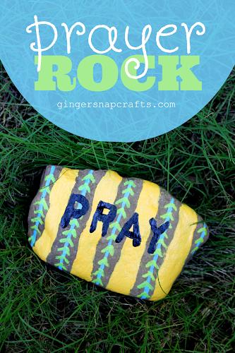 graphic regarding Prayer Rock Printable called Ginger Snap Crafts: Prayer Rock information