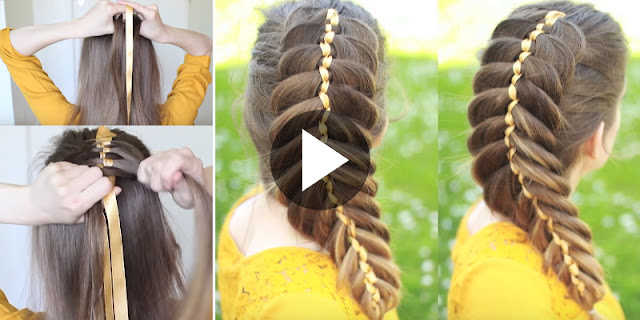 Learn - How To Create Dutch Fishtail Braid Hairstyle, See Tutorial
