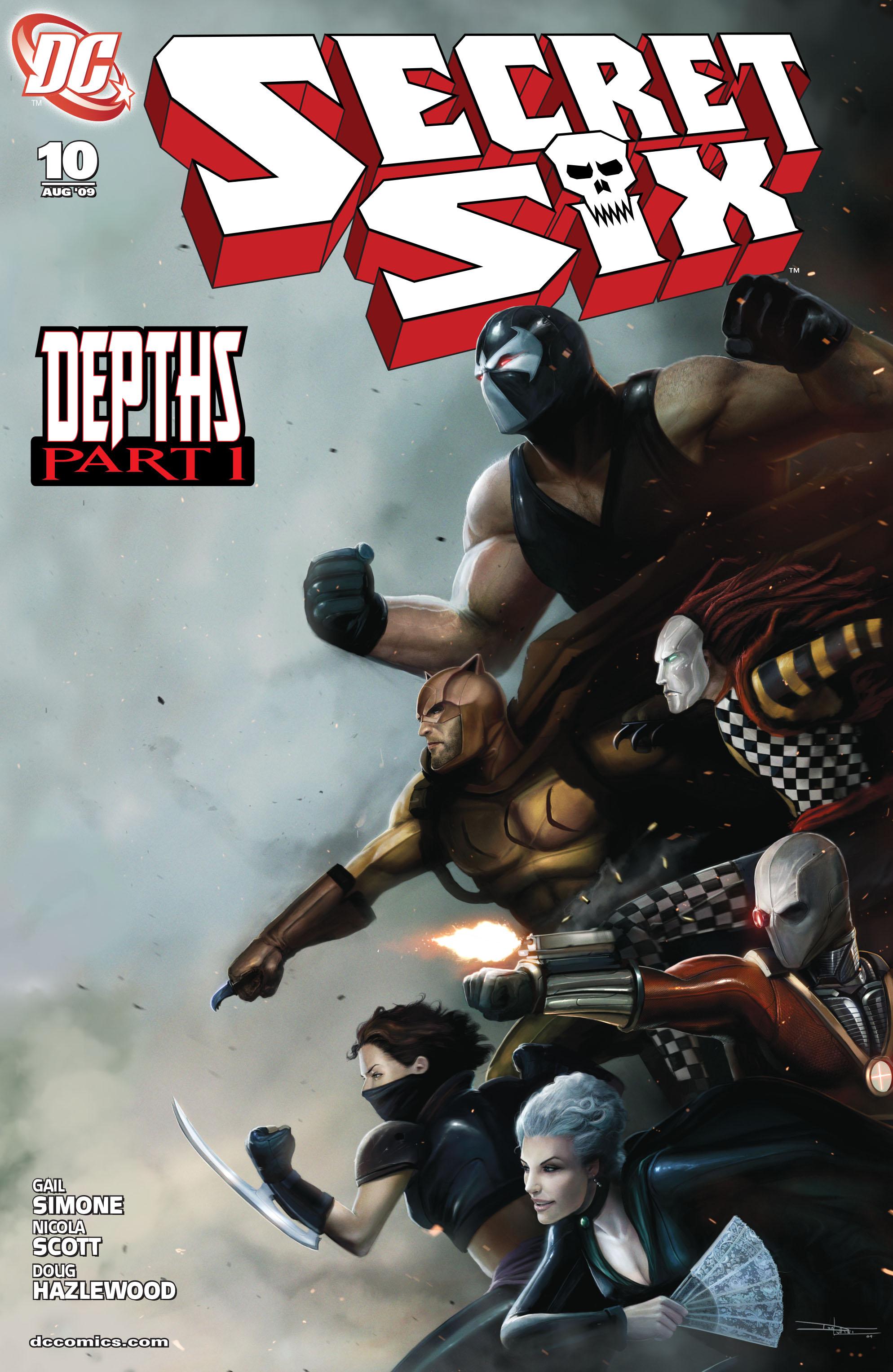 Read online Secret Six (2008) comic -  Issue #10 - 1