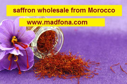 saffron wholesale from Morocco