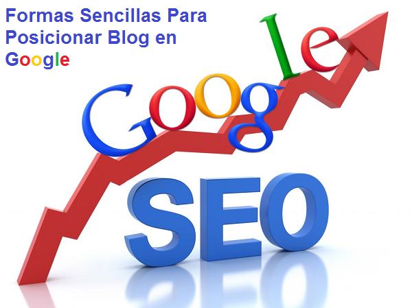 Posicionar Un Blog en Google
