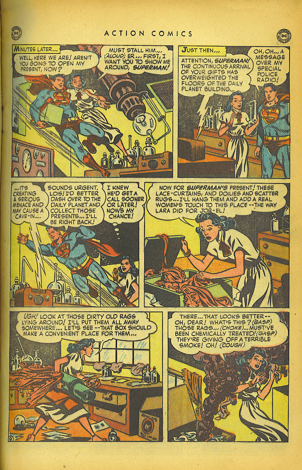 Read online Action Comics (1938) comic -  Issue #149 - 10