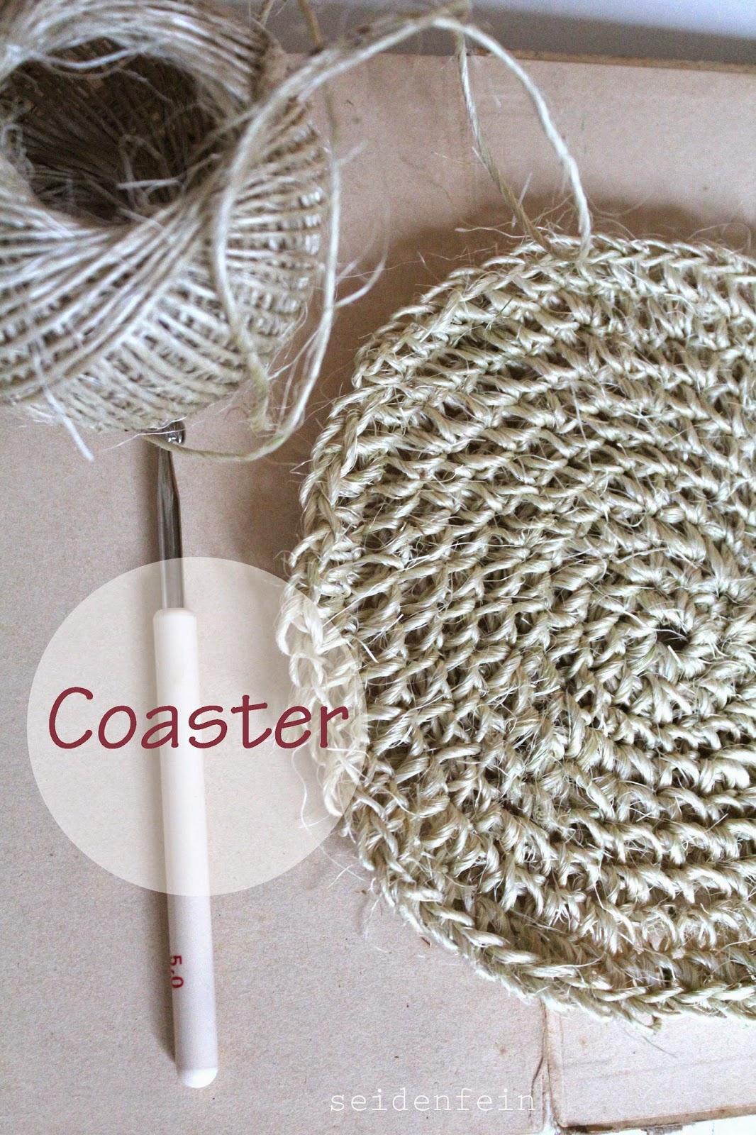 seidenfeins blog vom sch nen landleben hitzefest geh kelt diy crochet heat firm coaster. Black Bedroom Furniture Sets. Home Design Ideas