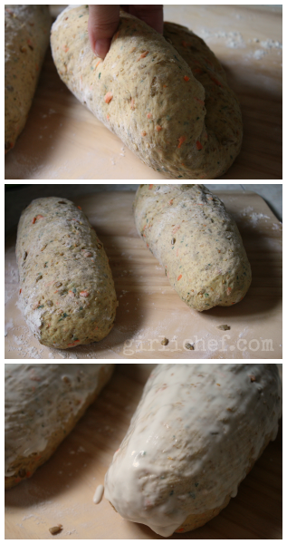 Carrot Bread {Bread Baking Babes} | www.girlichef.com