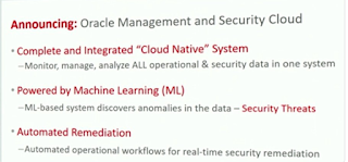 Oracle Open World 2017 - Holger Mueller Constellation Research Oracle Management and Security Cloud