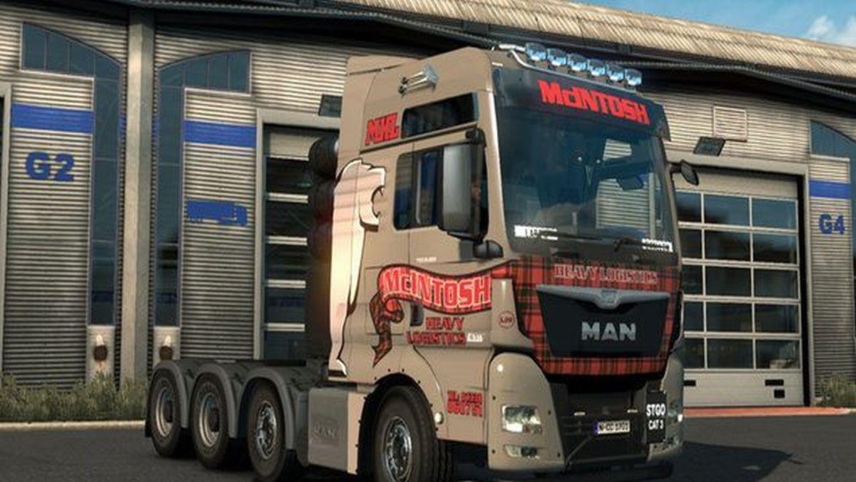 MAN TGX & Euro6 McIntosh Skin Pack