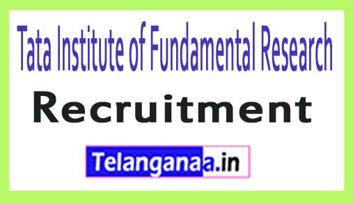 Tata Institute of Fundamental Research TIFR Recruitment