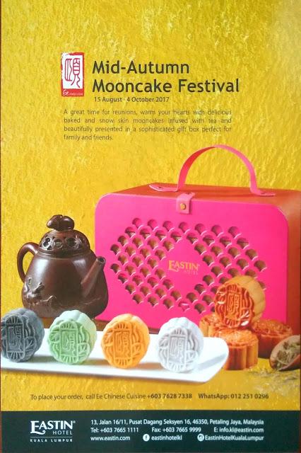 Mooncake Festival 2017 at Ee Chinese Cuisine Eastin Hotel Kuala Lumpur