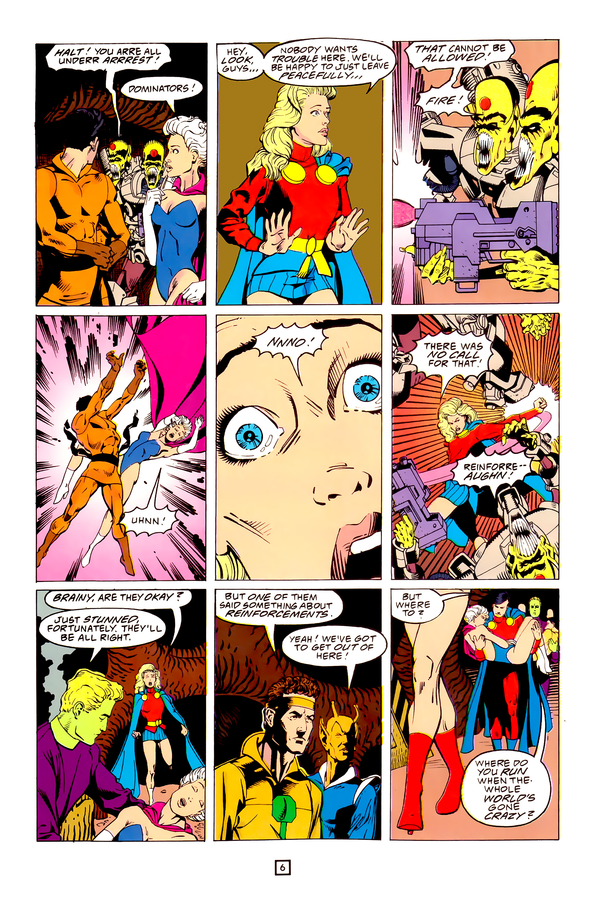 Legion of Super-Heroes (1989) 25 Page 6