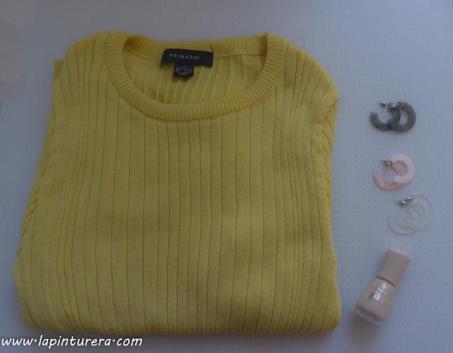 jersey amarillo primark