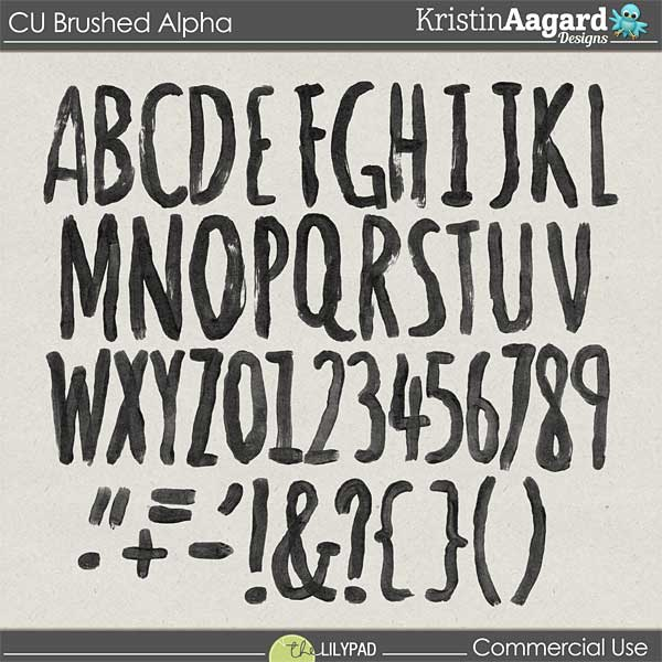 http://the-lilypad.com/store/Digital-Scrapbook-Design-Tools-CU-Brushed-Alphabet-1.html