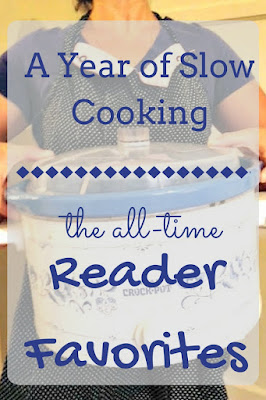 The Top 10 Favorite Recipes for the crockpot slow cooker from A Year of Slow Cooking. Creme brulee, taco soup, homemade yogurt, brown sugar chicken
