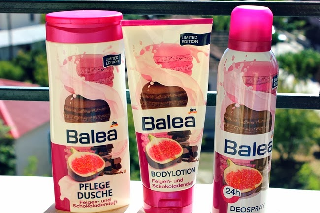 BALEA limited editions Chocolate & shower gel body lotion deodorant