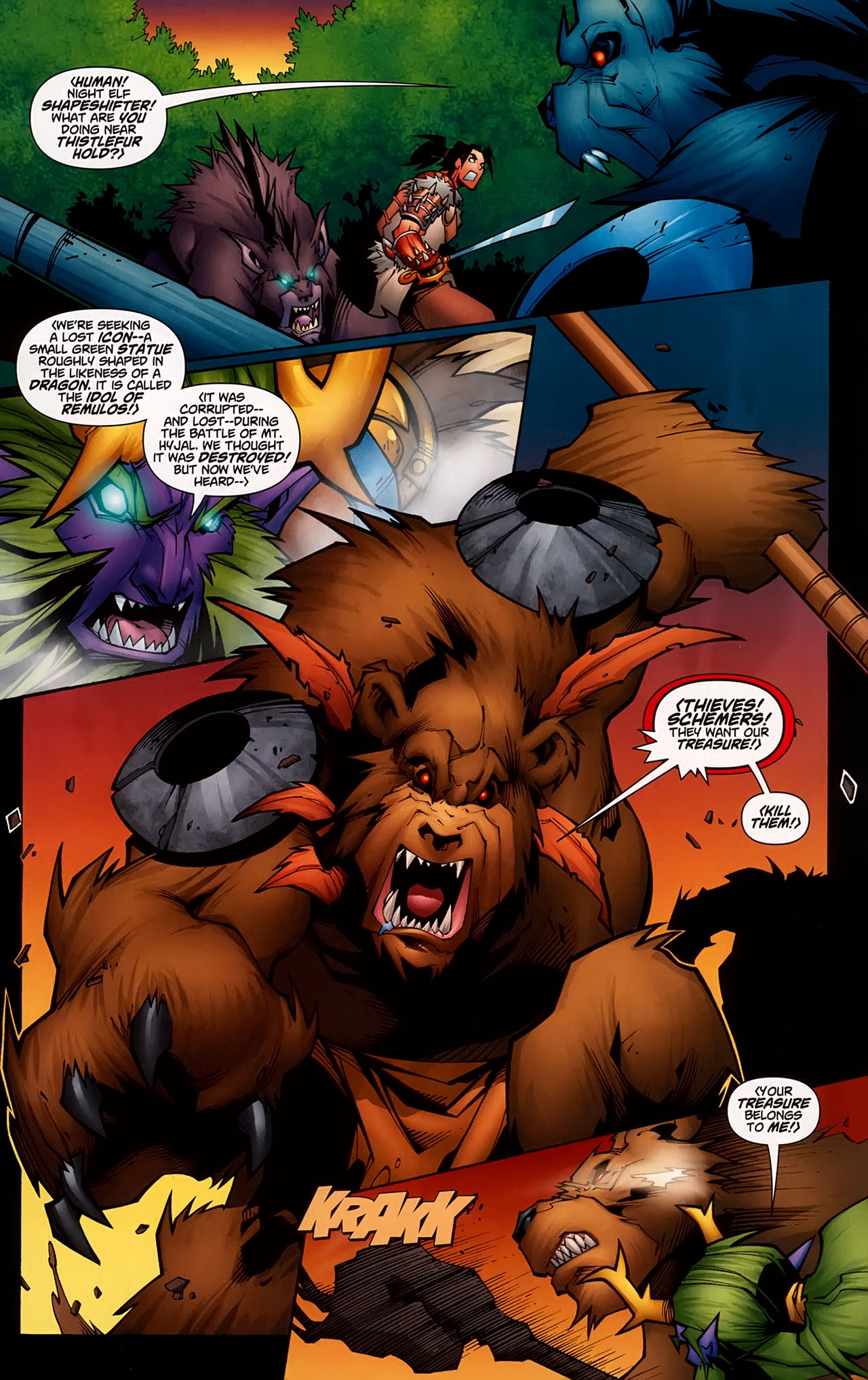 Read online World of Warcraft comic -  Issue #5 - 5