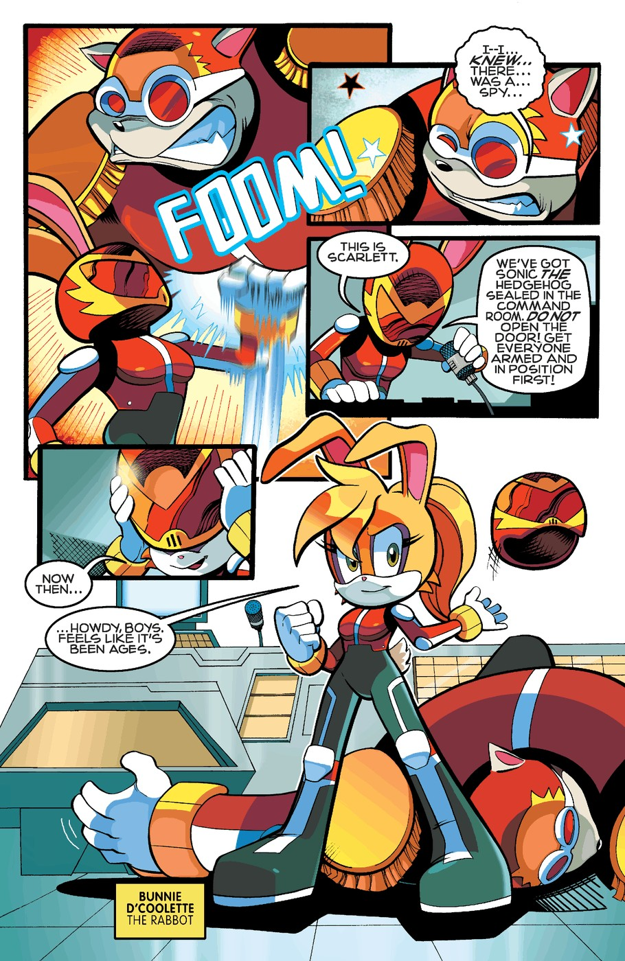 Read online Sonic The Hedgehog comic -  Issue #255 - 8