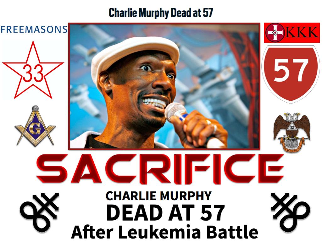 Cog Charlie Murphy Sacrifice Ku Klux Klan Satanic Freemasonry