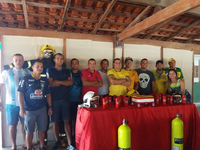 Bombeiros de Guajará Mirim comemoram o Dia Nacional dos Bombeiros