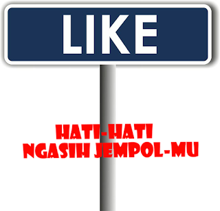 Modus tombol like di facebook