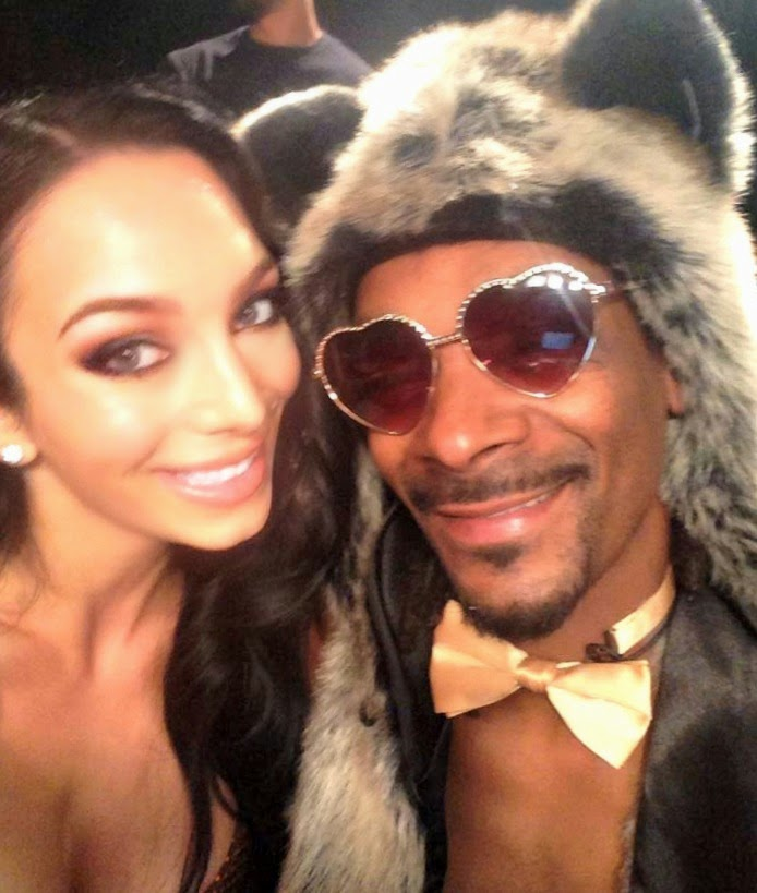 Snoop Dogg and Shahira Barry