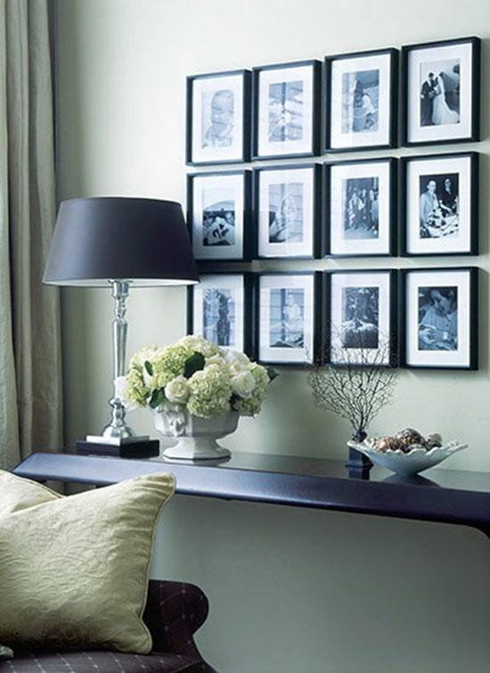 Posicionando quadros na parede de maneira correta