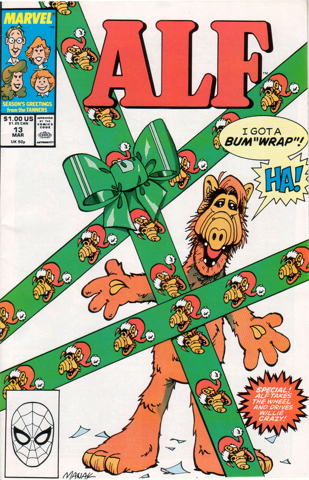 Read online ALF comic -  Issue #13 - 1