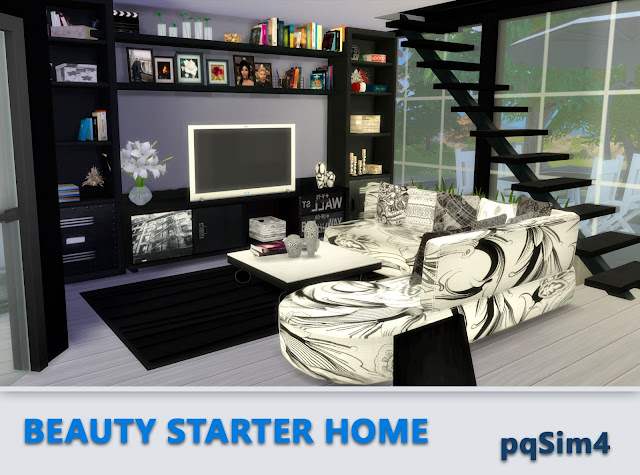 Beauty Starter Home. Interior 1