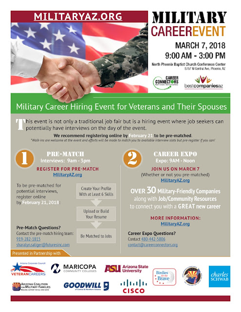 Image for event poster.  Visit Visit MilitaryAZ.org for full text
