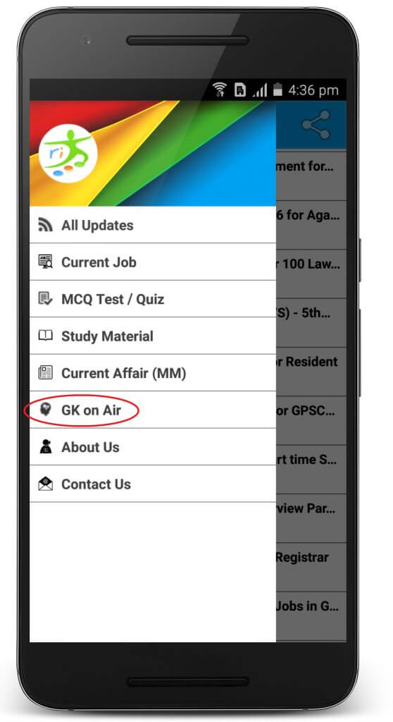 GK in Gujarati Android App