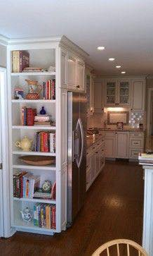 Ideas For Using The Space Around The Refrigerator Decor