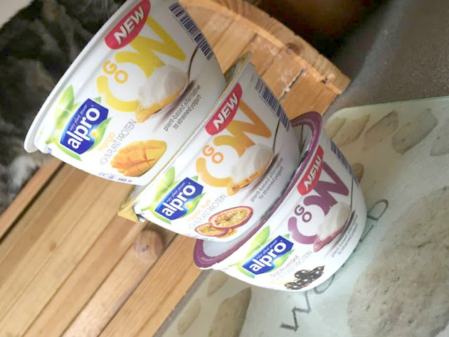 alpro go on yogurts