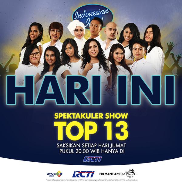 hasil eliminasi pertama indonesian idol 2017