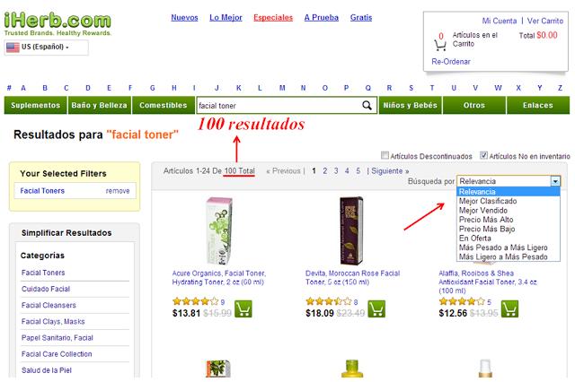 como-comprar-iherb-ordenar-resultados-beauty