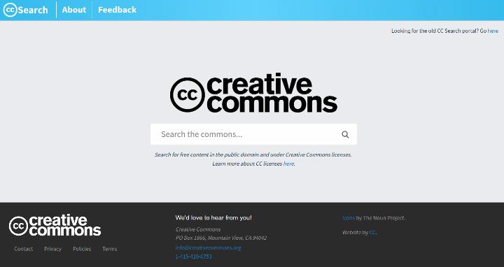 CC Search, buscador de imágenes libres de Creative Commons