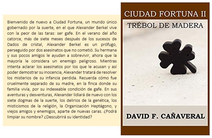 Resena Trebol De Madera David F Canaveral A Traves De Un Libro - Leeros-de-madera