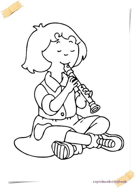 January 2018 Coloring Page