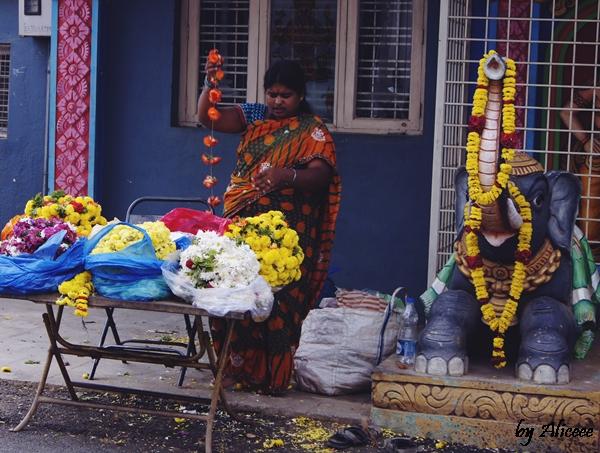 India-Bangalore-templu