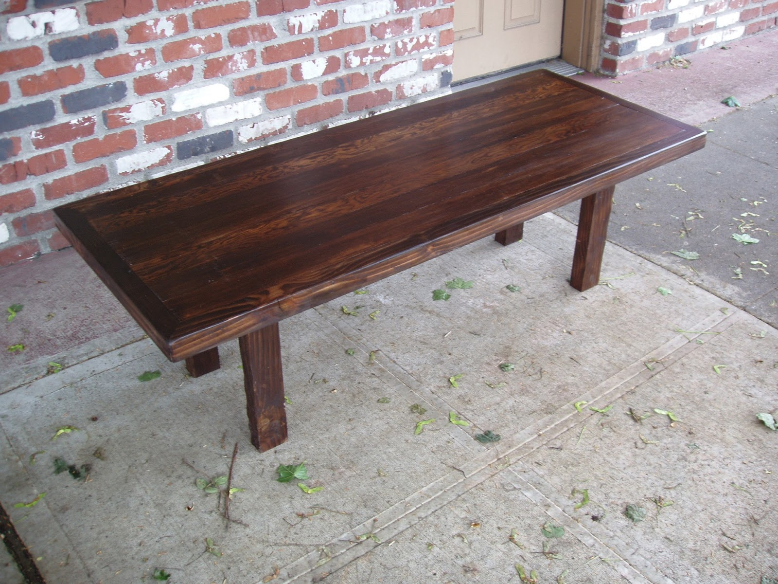 driftedge woodworking Reclaimed Doug Fir and Spruce Coffee Table